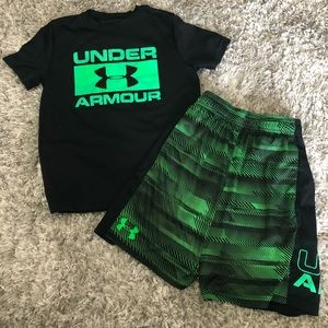 Under Armour boys outfit